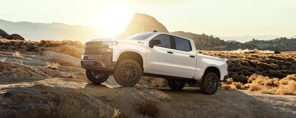 2019 white silverado off-road