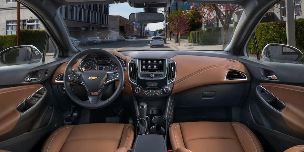 2019 chevrolet cruze front interior and dash