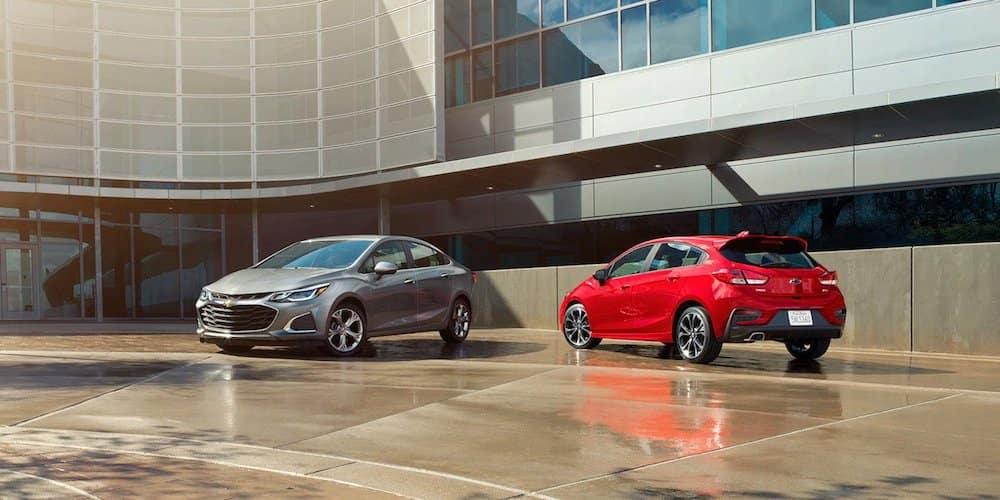 2019 chevy cruze sedan and hatchback