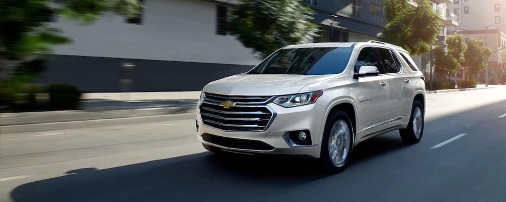 2019 Chevrolet Traverse on City Road