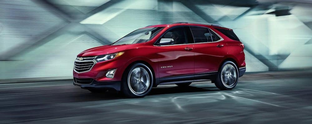 2019 Chevy Equinox Driving on Road
