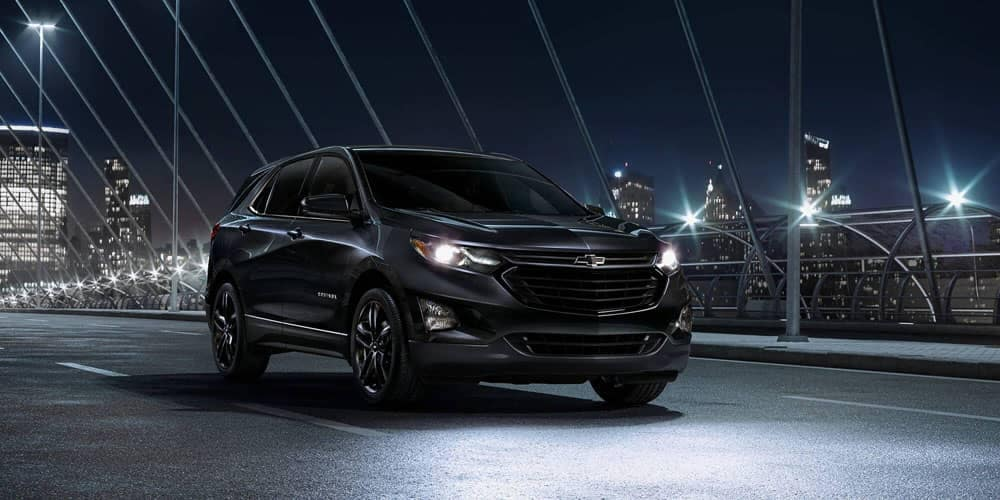 2020 Chevy Equinox At Night