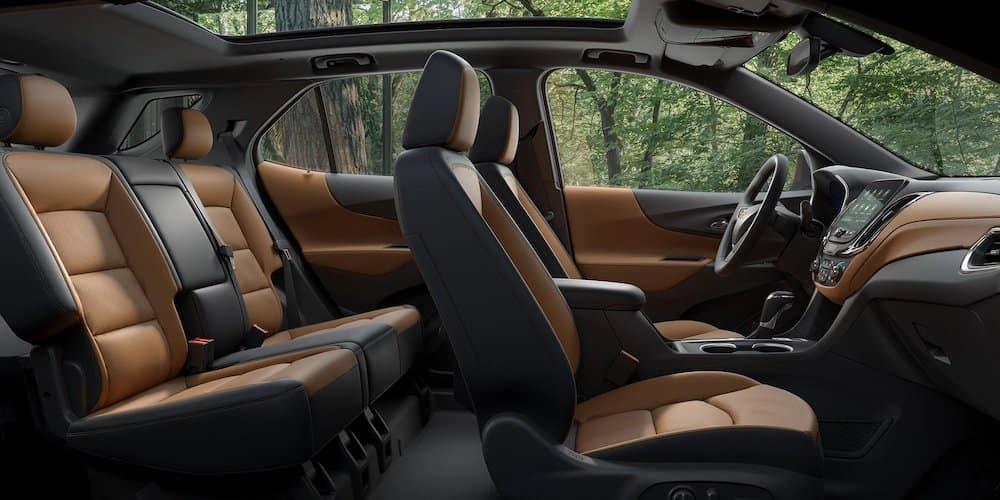 2020 Chevy Equinox Wide Interior View