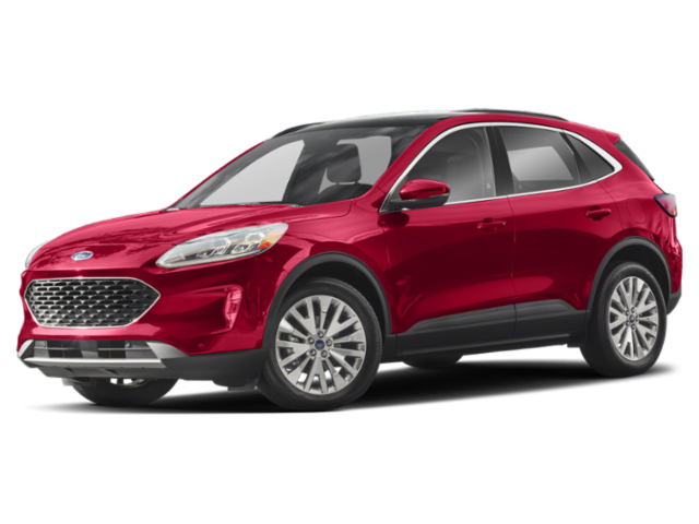 Red 2020 Ford Escape