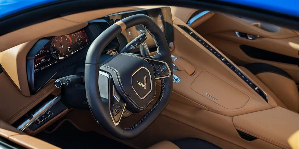 2020 Chevy Corvette Front Interior
