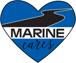 Marine Chevy Cares Logo
