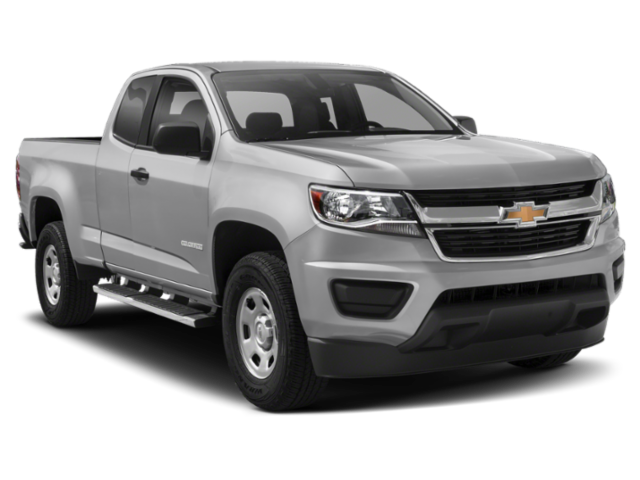 Silver 2020 Chevrolet Colorado