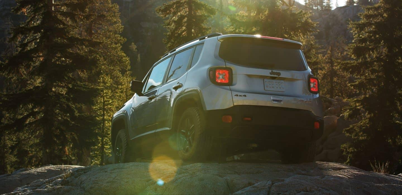 2018 Jeep Renegade rear view