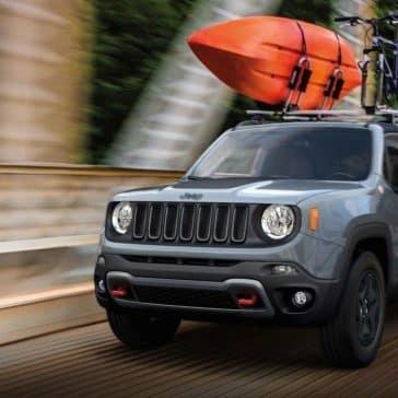 2018 Jeep Renegade on bridge