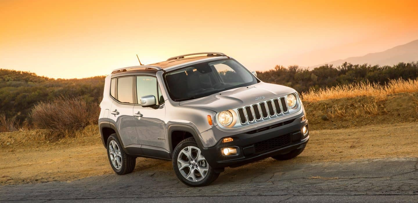 2018 Jeep Renegade front view