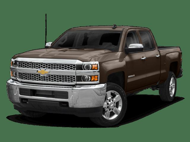 2019 Chevrolet Silverado 2500 in brown