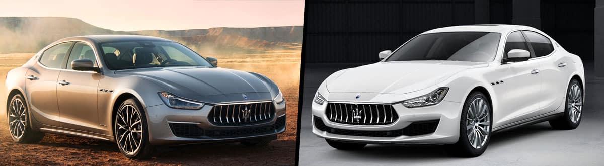2019 Maserati Ghibli S vs 2019 Maserati Ghibli S Q4