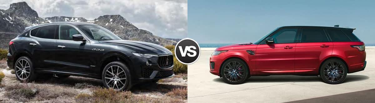 2019 Maserati Levante vs 2019 Land Rover Range Rover Sport