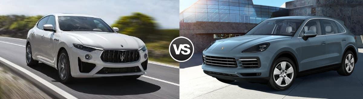 2019 Maserati Levante vs 2019 Porsche Cayenne