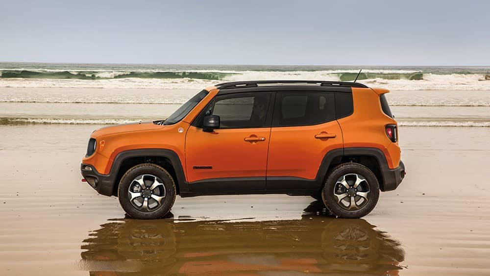 2019 Jeep Renegade On The Beach