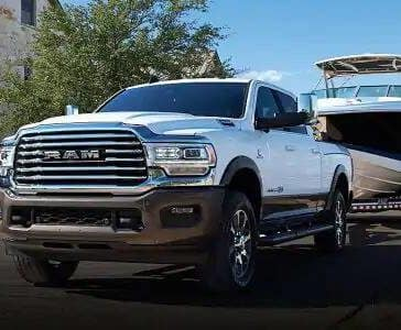 2019 Ram 2500 Towing Boat