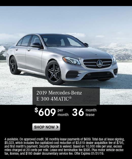 2019 Mercedes-Benz E 300 4MATIC®