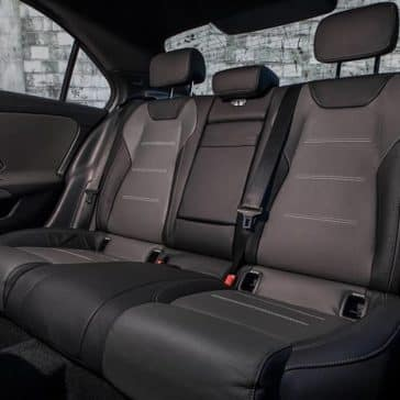 2019 MB A-Class Seating