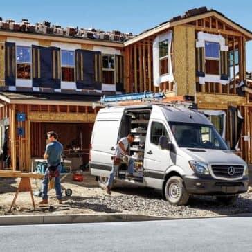 2018-Sprinter-Cargo-Van-On Jobsite