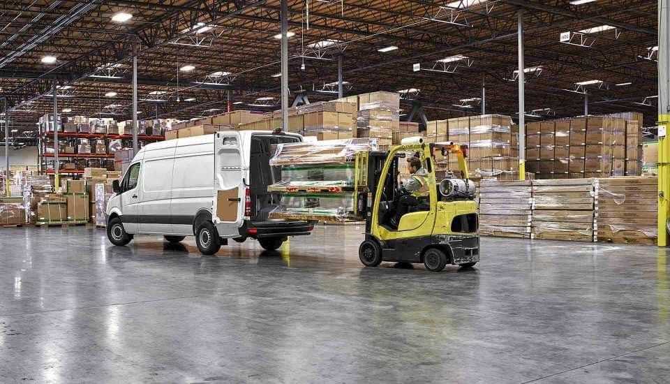 2018-Sprinter-Cargo-Van-In Warehouse