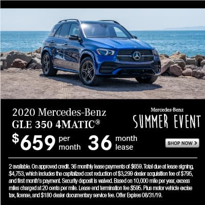 New 2020 Mercedes-Benz GLE 350 4MATIC® SUV AWD