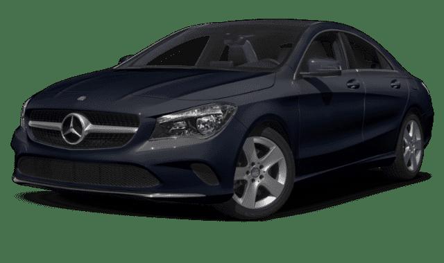 Blue 2019 Mercedes-Benz CLA
