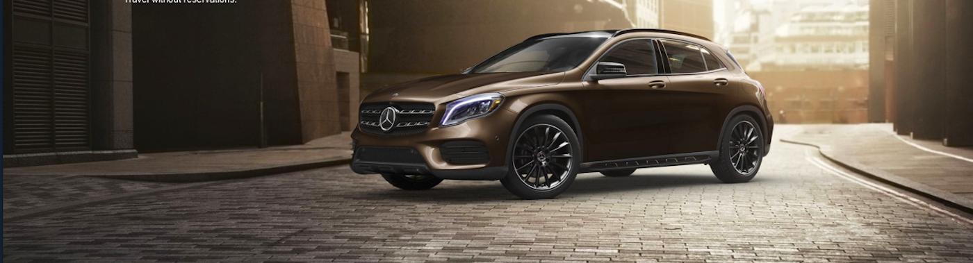 Bronze Mercedes-Benz SUV