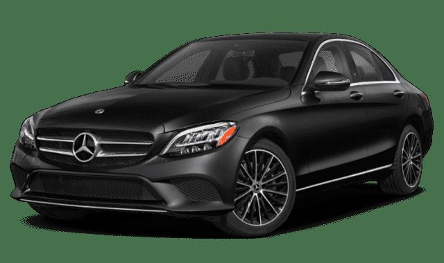 Black 2020 mercedes-Benz C-Class