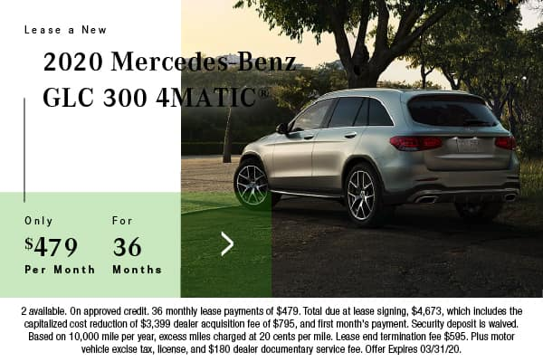 New 2020 Mercedes-Benz GLC 300 AWD 4MATIC®