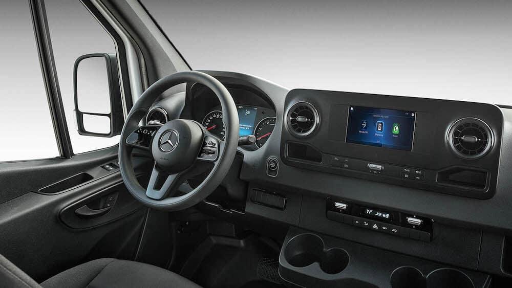 2020 Mercedes-Benz Sprinter interior dashboard