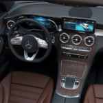 2021 Mercedes-Benz GLC Interior Dashboard Steering Wheel Banner