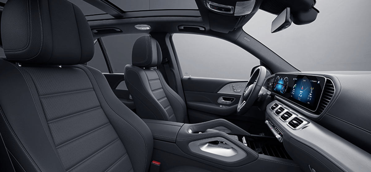 2021 Mercedes-Benz GLE Front Seat Banner