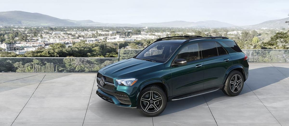 2021 Mercedes-Benz GLE Banner
