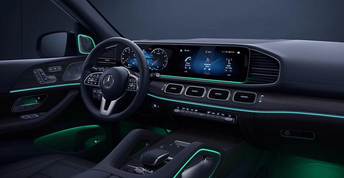 2021 Mercedes-Benz GLE Interior Banner