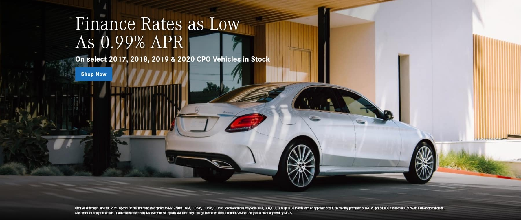 Rates as low as 0.99% APR