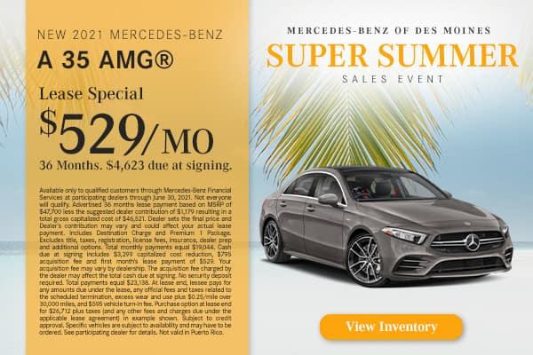 New 2021 Mercedes-Benz A 35 AMG®