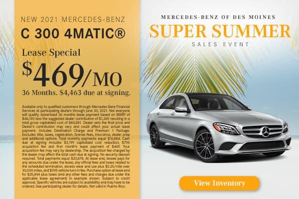 New 2021 Mercedes-Benz C 300 4MATIC®