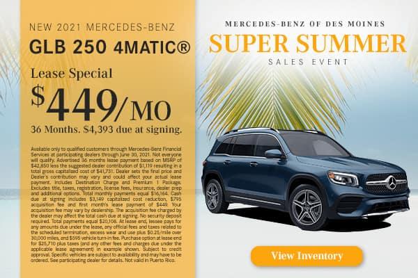 New 2021 Mercedes-Benz GLB 250 4MATIC®
