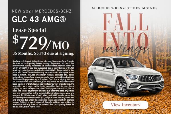 New 2021 Mercedes-Benz GLC 43 AMG®