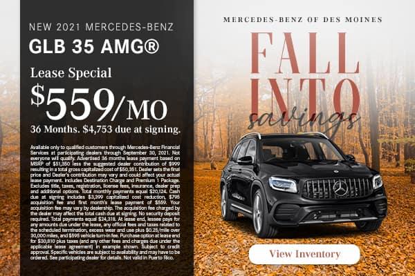 New 2021 Mercedes-Benz GLB 35 AMG®