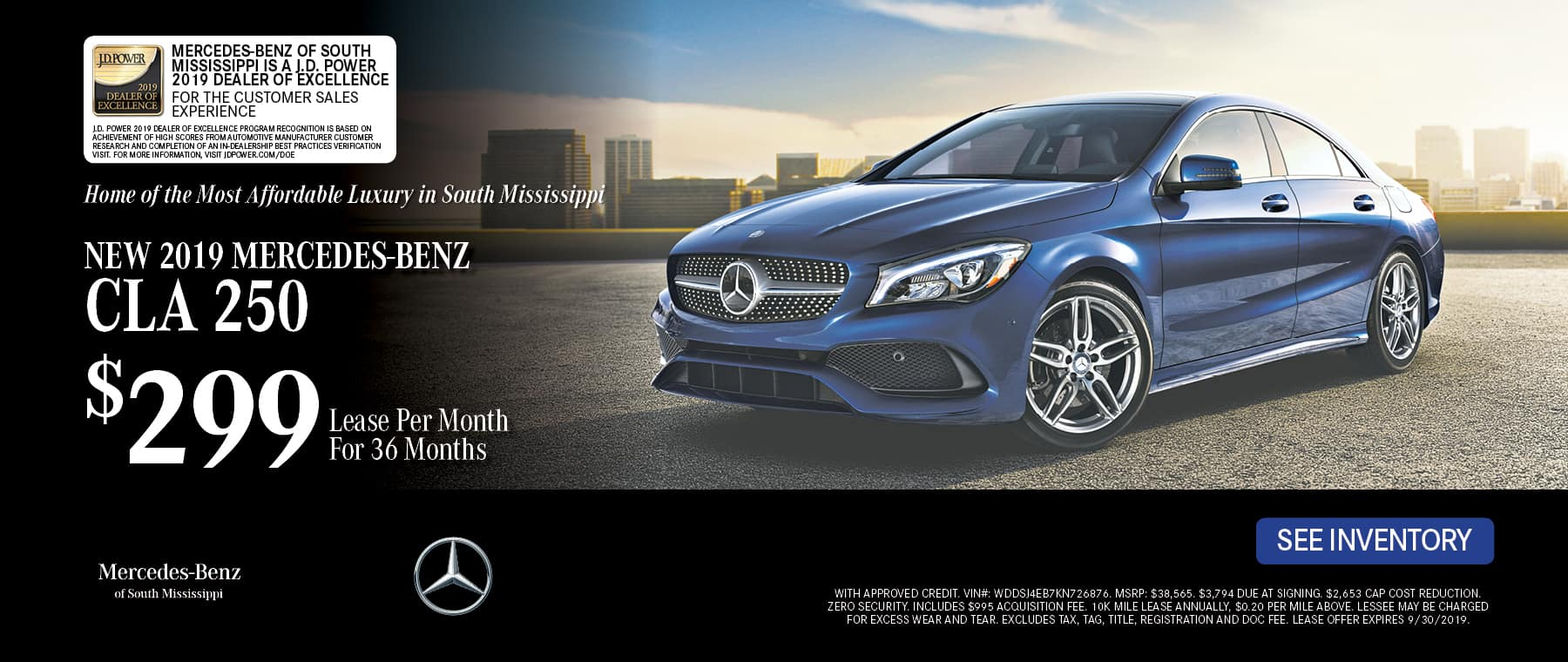 CLA250 SPECIAL