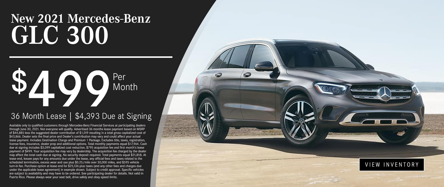 mercedes benz new glc 300 sale special at mbofsm