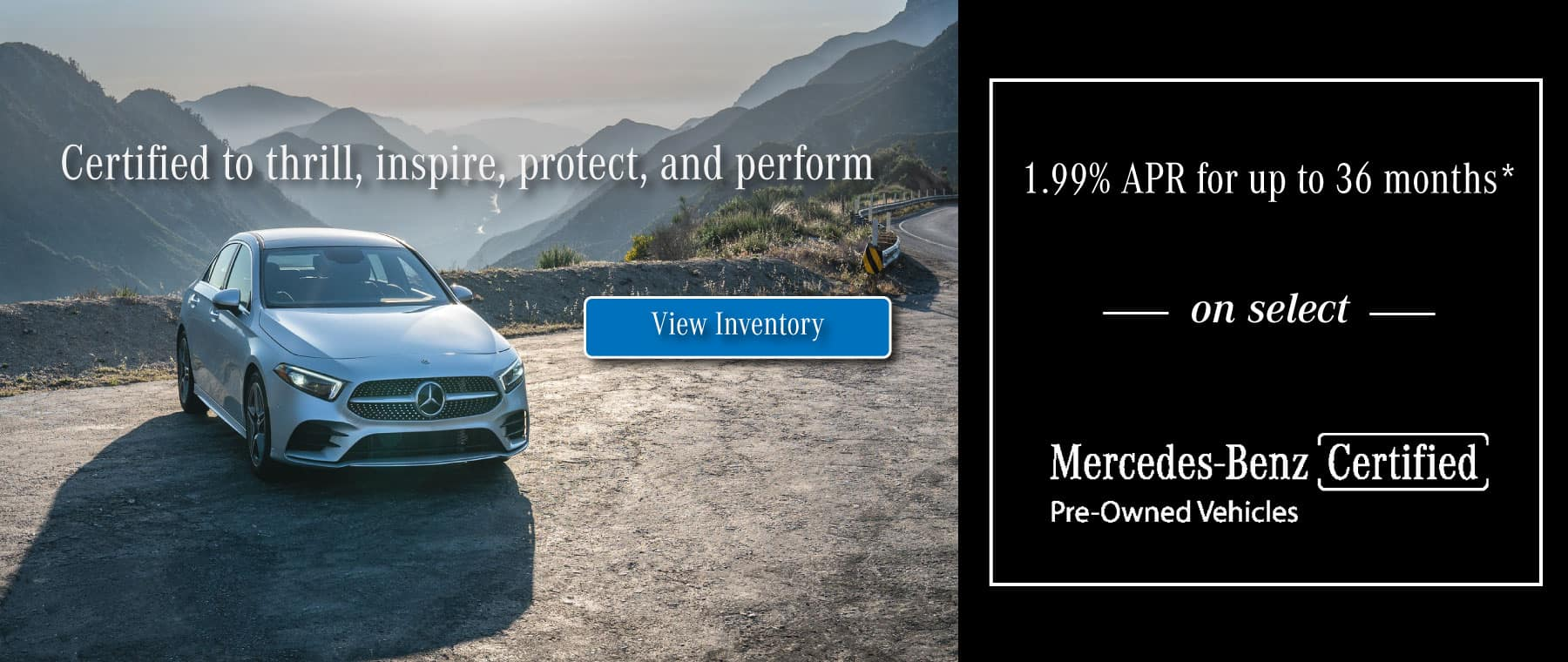 Mercedes-Benz of Spokane certified pre owned special