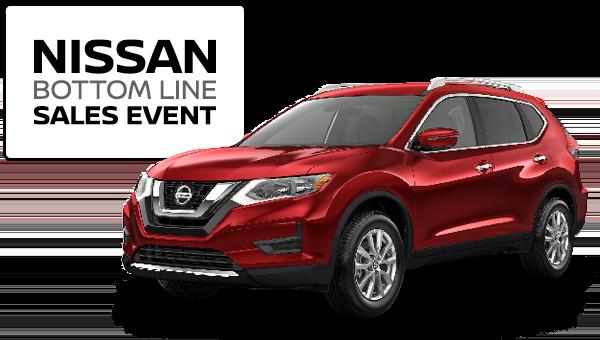 2019 Nissan Rogue - Bottom Line Sales Event logo