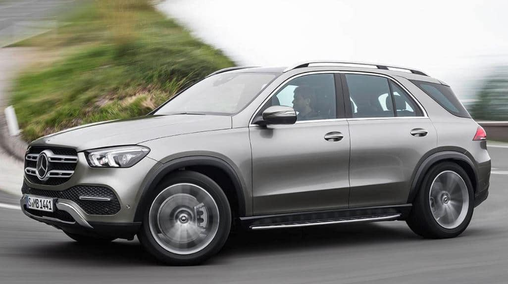 New Mercedes-Benz GLE