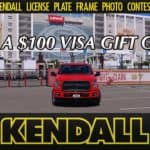 Kendall License Plate Photo Contest