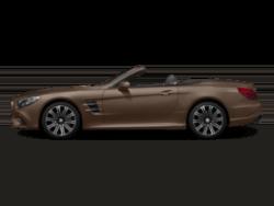 SL Roadster model side