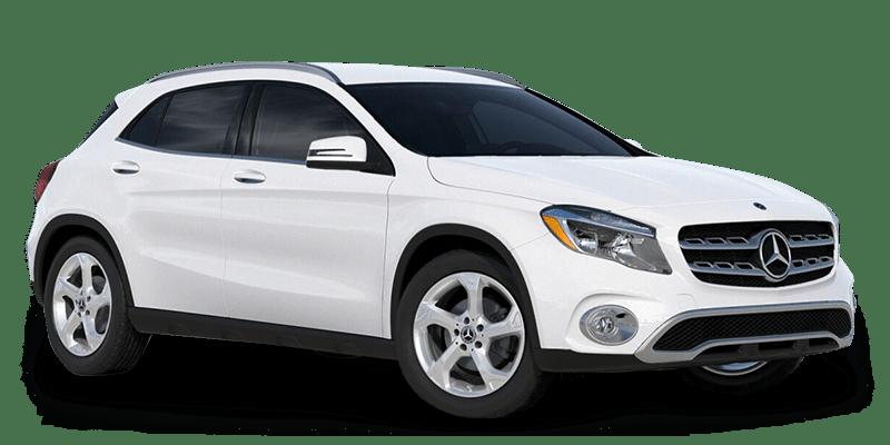2019 GLA SUV Polar White HERO