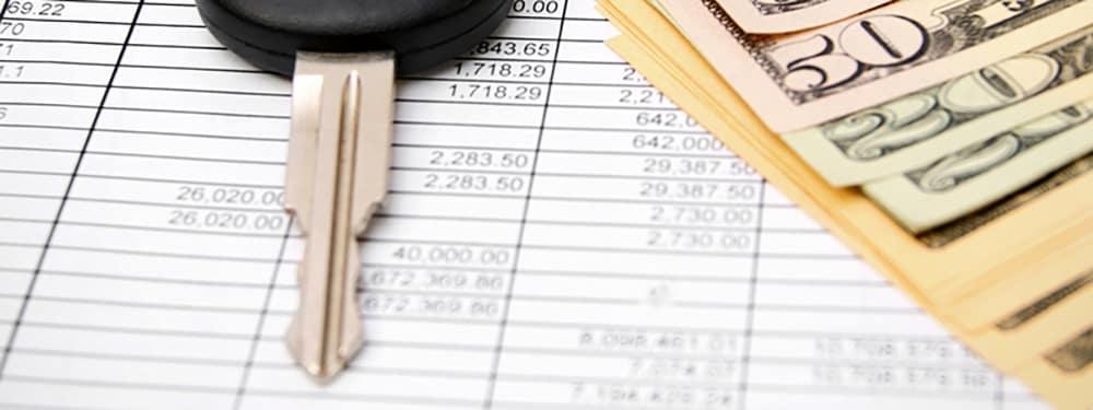Auto finance paperwork