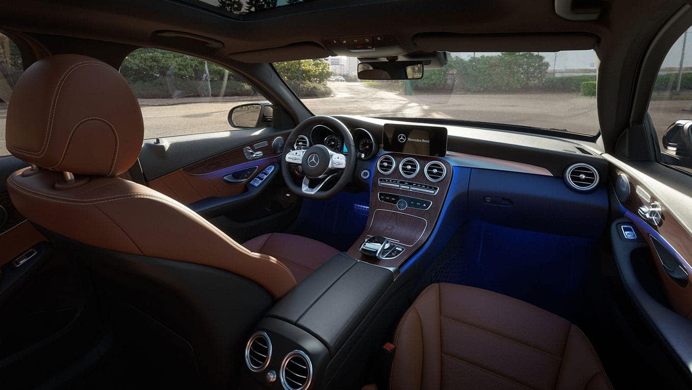 C-Class Interior Dash
